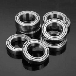 10pcs 15x24x5mm Deep Groove Ball Bearings 6802zz Miniature  Ball Bearing