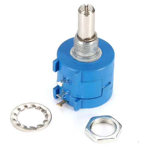 10Pcs 3590S-2-103L 10K Ohm BOURNS Rotary Wirewound Precision Potentiometer Pot 10 Turn