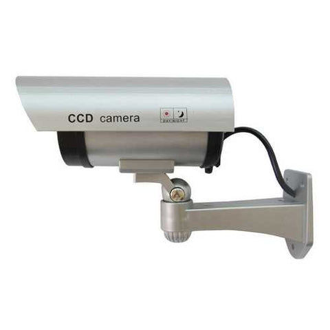 CA-11-01 Dummy Fake Outdooors Waterproof Surveillance CCTV Security Camera Flashing Red Led Light