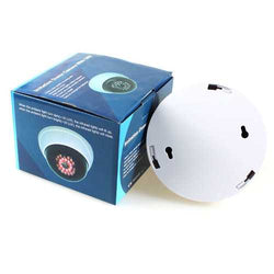 C-63 Dummy Dome CCTV Camera Anti Theft Security Store Shop Indoor Outdooors Fake Red Led White