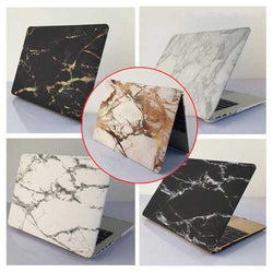 Marble Matte Stone Hard Case Cover Top Bottom Shell For Macbook Air Pro 12 Inch