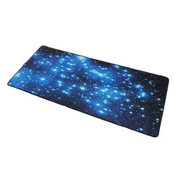 Blue Stars Anti-Slip Neoprene Large Computer Gaming Mouse Keyboard Desk Pad