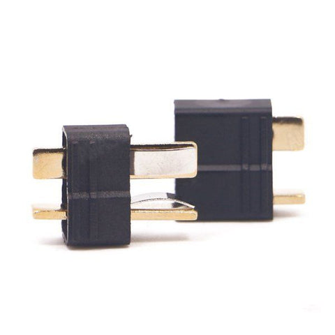 10 Pair Amass AM-1015B Anti-Slip Black T Plug Connector Male & Female