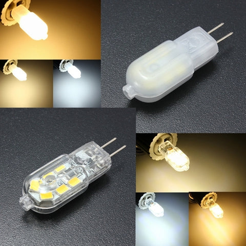G4 Base 2W 12SMD LED Warm/Cool/Natural White Light Lamp Bulb DC12V