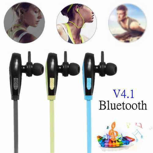 Sport Wireless V4.1 Bluetooth Earphones Headphones Headset With Mic