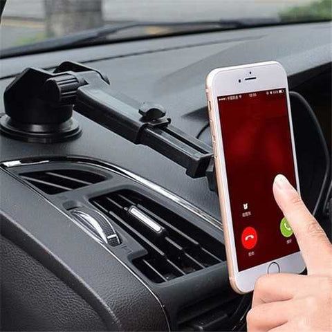 Bakeey?? ATL-3 2 in 1 Magnetic Phone Stand Sucker Car Air Outlet Holder for iPhone Samsung
