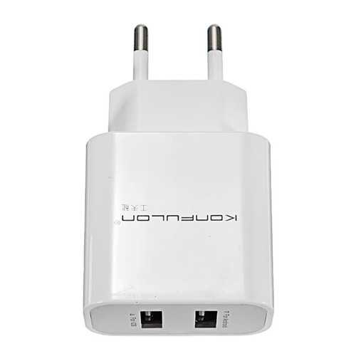 Konfulon C18 double ports 5V 2.4A Micro USB Charger