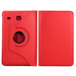 Folding Stand Revolving PU Leather Case Cover 8.0 Inch for Samsung T377