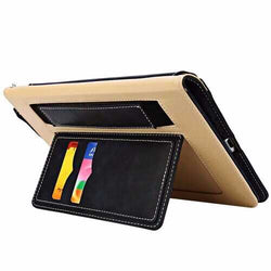 Multifunctional Card Slot Lanyard Leather Case For iPad Mini 4