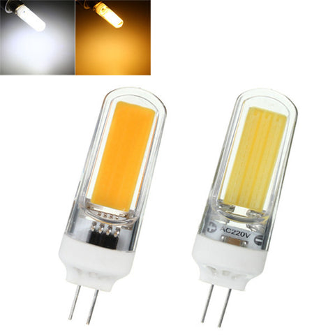 3W G4 COB LED Cool/Warm White Non-dimmable Bulb Lamp 220V