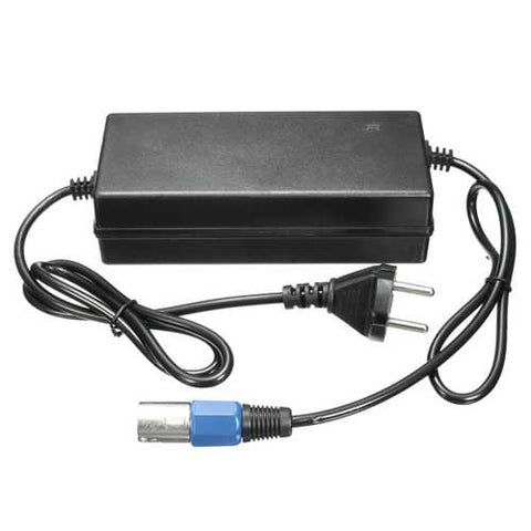 AC 80-240V 1.6A 3 Male Connector Lead Acid Battery Charger For Motorcycle Electric Scooter Bike Bike