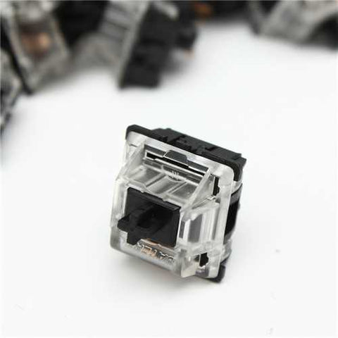 87Pcs Gateron RGB Series Black 3Pin Mechanical Switch For Mechanical Keyboard