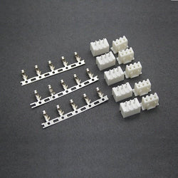 10Pairs 2S 3Pin JST XH Male and Female Balancer Charger Connectors