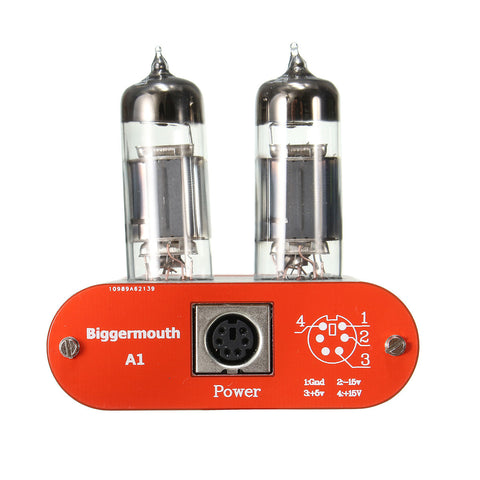 Biggermouth A1 HIFI Fever Level Audio Headphone Amplifier 6J5 Tube Valve Multi-Hybrid