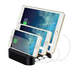 Multifunctional 3 USB-Port Universal Smart Charger Charging Dock for Mobile Phone