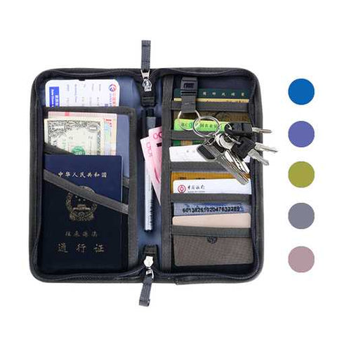 Honana HN-PB6 Oxford Passport Holder 6 Colors Travel Wallet Credit Card Tickets Organizer