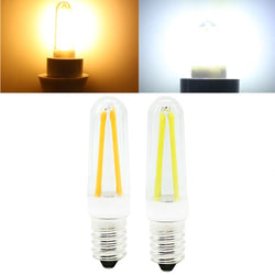 Mini Dimmable E14 4W COB LED Filament Lamp Light Bulb Replace Halogen Lamp AC110V/220V