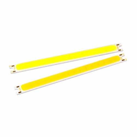 5W COB LED Chip DC12V Warm / Pure White 100x8mm for DIY Lamp Light