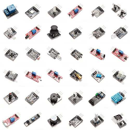Geekcreit 37 In 1 Sensor Module Board Set Starter Kits For Arduino