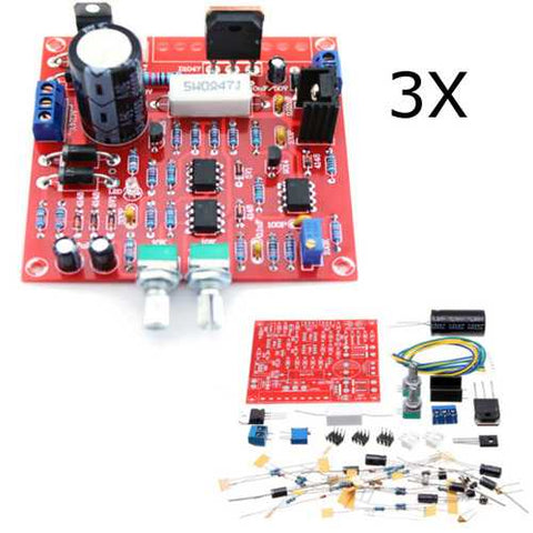 3Pcs Original Hiland 0-30V 2mA - 3A Adjustable DC Regulated Power Supply Module DIY Kit