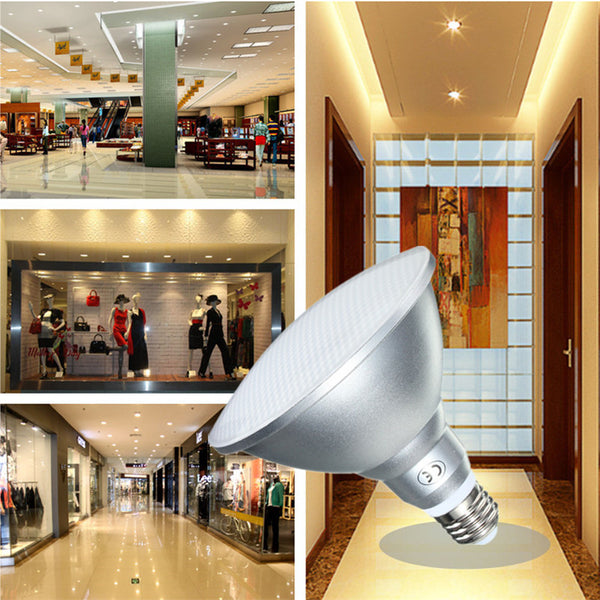 Dimmable E27 PAR38 15W 900LM LED Spotlightt Lamp Bulb Indoor Lighting 110V