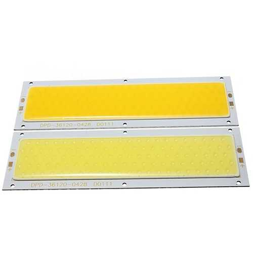 30W COB LED Chip DC12-24V Warm / Pure White 140x50mm for DIY Lamp Light
