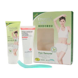 Men & Women Enusoft Depilatory Cream Plant Essence Powerful Hair Growth Inhibitor Kits Hair Removal