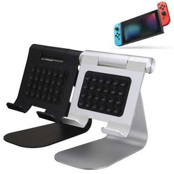 Aluminum Alloy Adjustable Stand Holder Sucker For Nintendo Switch iPad Phones Tablet