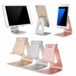 Bakeey ALT-4 Aluminum Alloy Adjustable Anti-slip Desktop Stand Charging Holder for iPad Phone Tablet