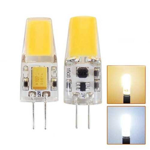 AC/DC12V 2W G4 1508 COB LED Bulb Light Replace Halogen Chandelier Lamp