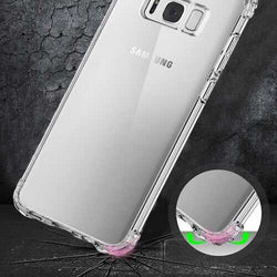 Air Cushion Transparent Soft TPU Case For Samsung Galaxy S8 Plus 6.2