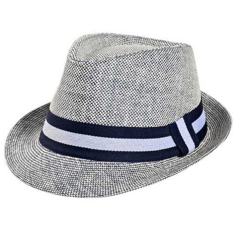 Unisex Men Women Straw Jazz Cap Summer Breathable Outdoor Sunshade Visor Panama Hat