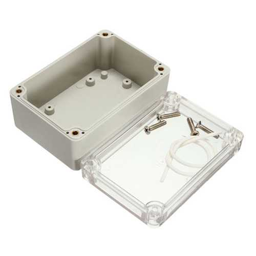 5Pcs 100x68x50mm Waterproof Electronic Plastic Box Electrical Junction Case