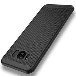 Mesh Dissipating Heat Anti Fingerprint Hard PC Case For Samsung Galaxy S8