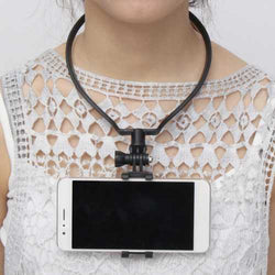 Neck Hanging Mobile Phone Holder Selfie Surporting Bracket Hands Free Lazy Holder Mount