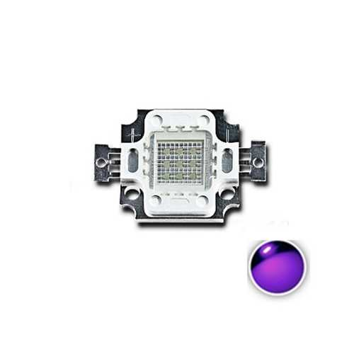 LUSTREON 10W UV Purple LED COB Bead Light High Power Ultraviolet DIY Lamp Chip