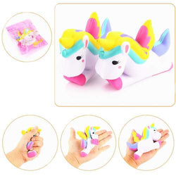 12CM Unicorn Squishy Slow Rising Cartoon Doll Squeeze Toy Collectibles for Cell Phone