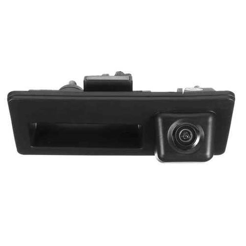 Car Trunk Handle CCD Rear View Backup Parking Camera For Audi