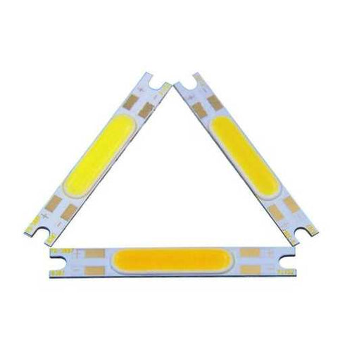 5W DC 9-12V COB Chip LED Light Source on Board 50x7mm for Wall Lamps Table Lantern