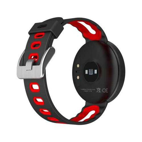 DM58 Heart Rate+Blood Pressure Waterproof Fitness Tracker Sports Smart Watch