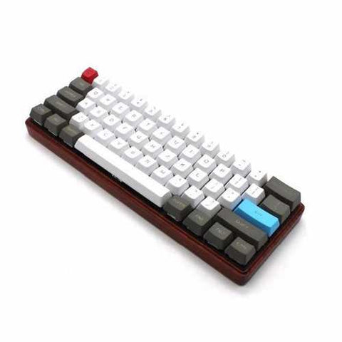 61 Key ANSI Layout OEM Profile PBT Thick Keycaps for 60% Mechanical Keyboard