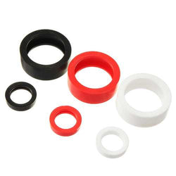 Realacc Rubber Protector Ring Circle For FPV Pagoda Antenna Black/Red/White