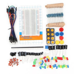 Geekcreit Components Starter Kits Resistor / LED / Capacitor / Jumper Wire / Breadboard For Geekcreit Arduino - products that work with official Arduino boards