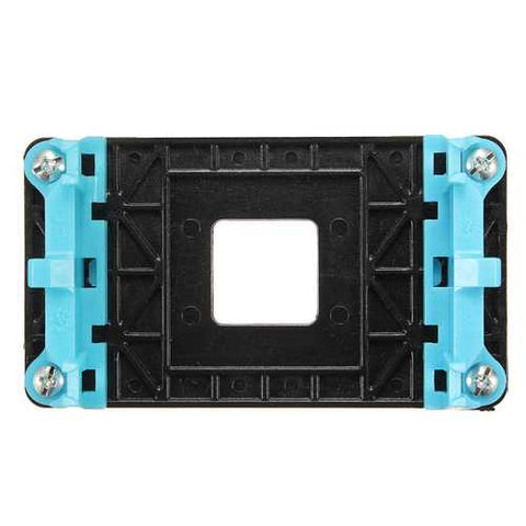 Heat Sink Retention Module Bracket Backplate Black For AM2/AM3/AM3+/FM1/FM2