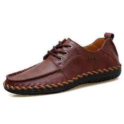 Genuine Leather Casual Oxfords Shoes