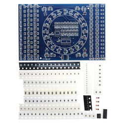 3Pcs DIY SMD Rotating LED SMD Components Soldering Practice Board Skill Training Kit
