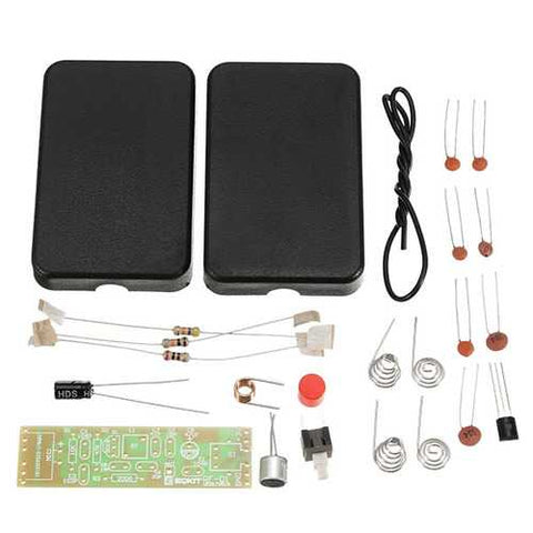 EQKIT? RF-01 DIY Wireless Microphone Parts 5mA 70MHz FM Transmitter Production Kit With Antenna