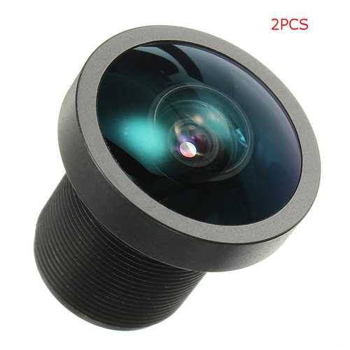 2PCS SHOOT 170 Degree Wide angle M12 Screw Thread Replacement Camera Lens FPV Lens for Gopro Hero2