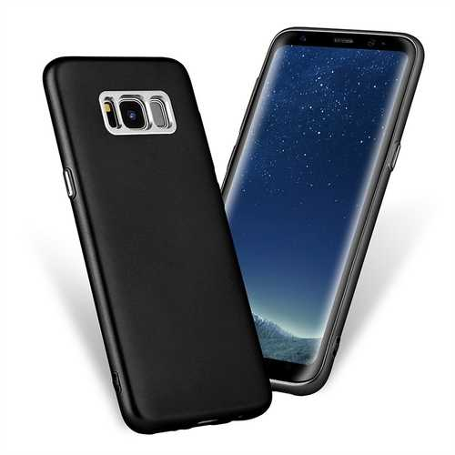 Plating Coating Shockproof Soft TPU Case Cover for Samsung Galaxy S8 Plus 6.2 Inch