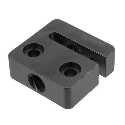 T8 2mm Lead 2mm Pitch T Thread POM Trapezoidal Screw Nut Seat For 3D Printer